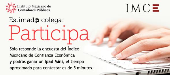 Participa en la encuesta del Índice Mexicano de Confianza Económica