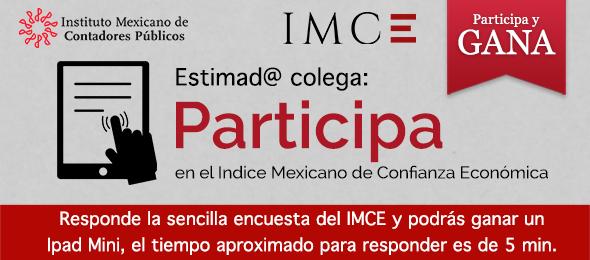¡Participa en el IMCE!