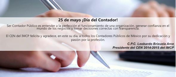 25 de mayo ¡Día del Contador!