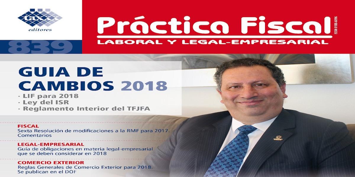 Portada de revista Practica Fiscal copia
