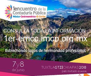 1er. Encuentro de la Contaduría Pública México – Centroamérica – El Caribe