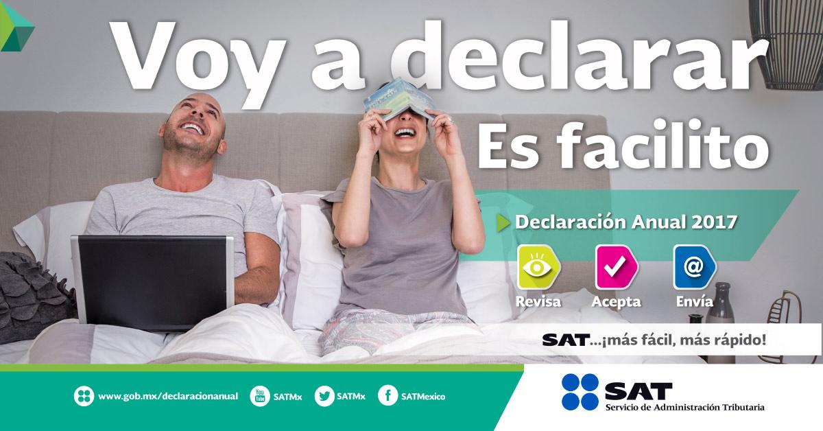 SAT. Declaración Anual para personas físicas