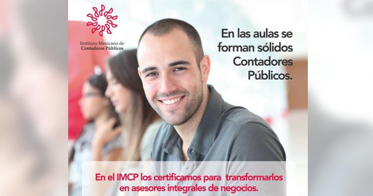 En el IMCP los certificamos para transformarlos en Asesores Integrales de Negocios