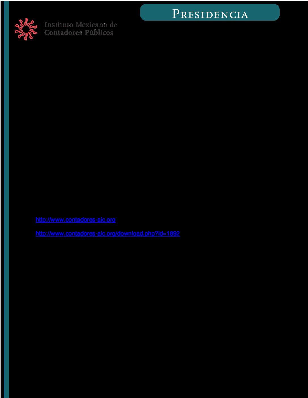 Folio No.: 63/2017-2018 Charla virtual. Fiscalización Electrónica en Latinoamérica