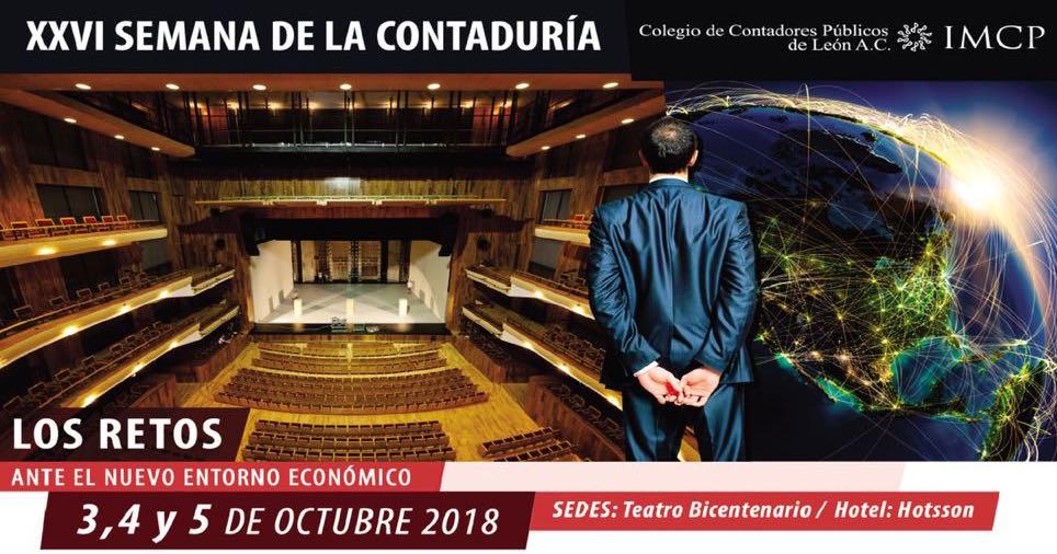 XXVI Semana de la Contaduría, Colegio de Contadores Públicos de León A.C.