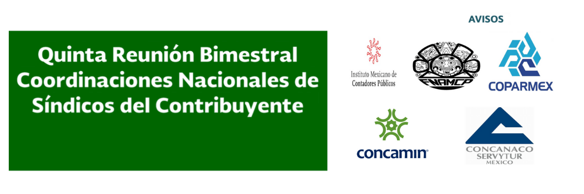 5ª Reunión Bimestral Coordinaciones Nacionales de Síndicos del Contribuyente