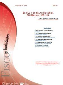 Fiscoactualidades 2018-69 El TLC y su Relación con el CDI México y EE. UU.