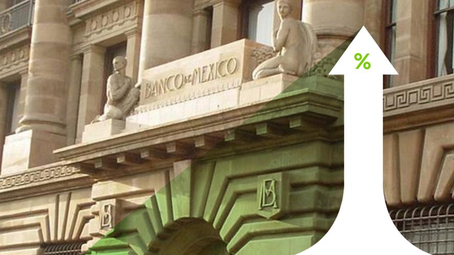 Banxico sube tasas por incertidumbre y Texcoco