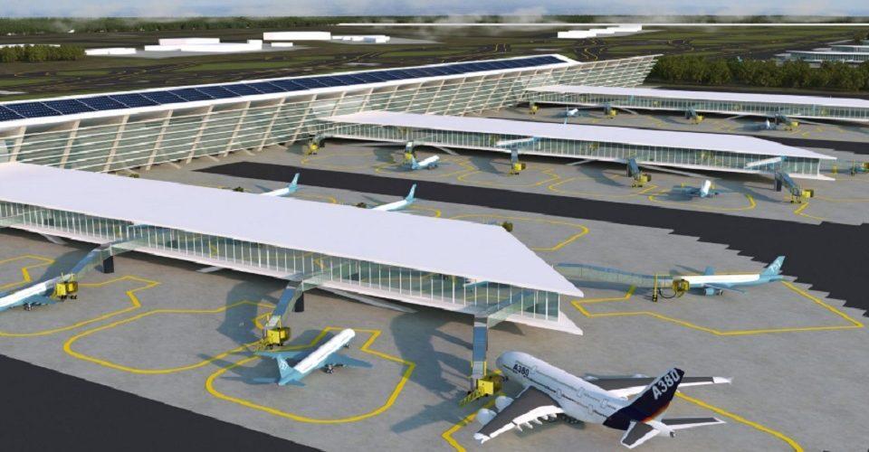 Despega proyecto del nuevo aeropuerto en Santa Lucía