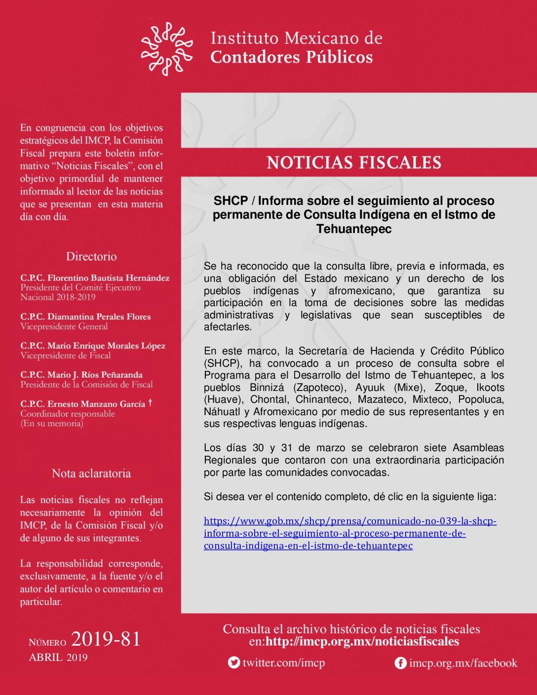 Folio No.: 35/2018-2019 Nuevo proceso del Refrendo de Certificación Profesional de los Contadores Públicos y por Disciplinas.