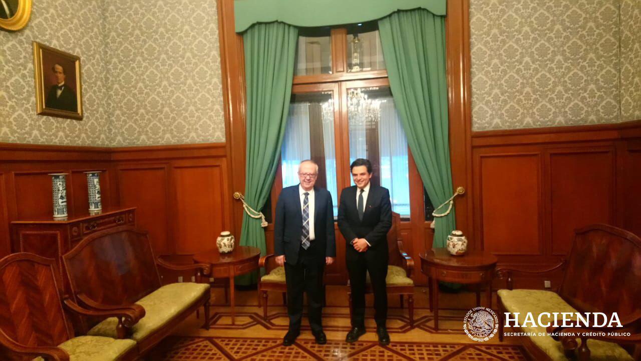 Tras reunión, titular de Hacienda y nuevo director del IMSS acuerdan colaboración