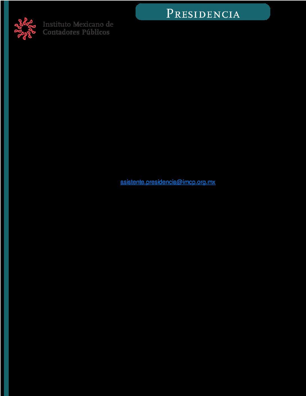 Folio No. : 42BIS/2018-2019 Comisión Orientadora de Elecciones (COE) del IMCP