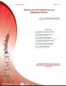 Fiscoactualidades 2019-75 Tópicos de los ingresos de las Personas Físicas