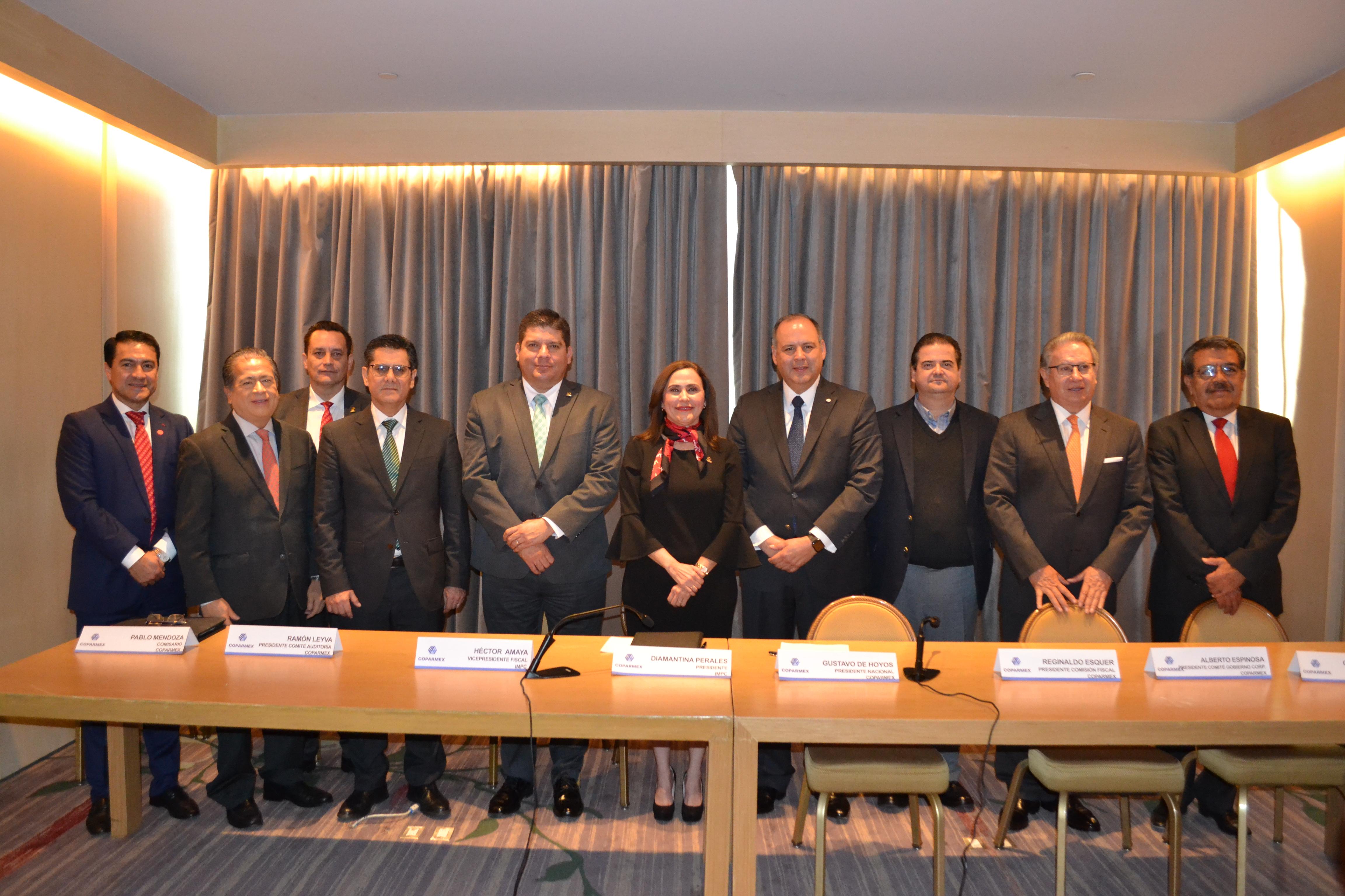 Convenio de colaboración IMCP – COPARMEX