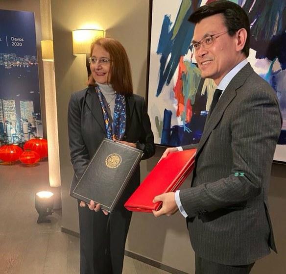 México y Hong Kong firman acuerdo de protección de inversiones.