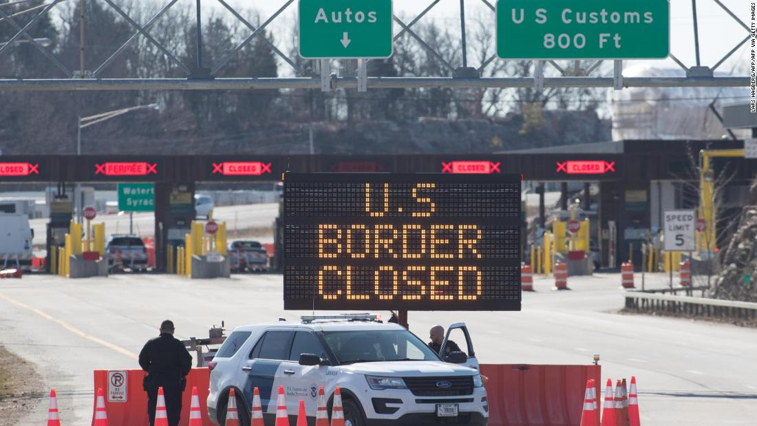 Reapertura de frontera México-EU será a partir del 8 de noviembre.