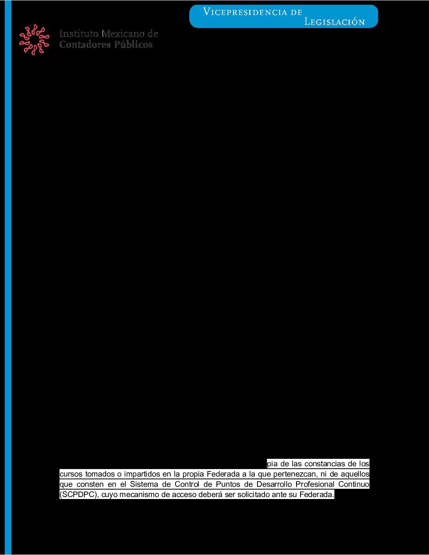 Folio 23/2020-2021.- Facilidad para presentar la Manifestación de Cumplimiento DPC 2020.