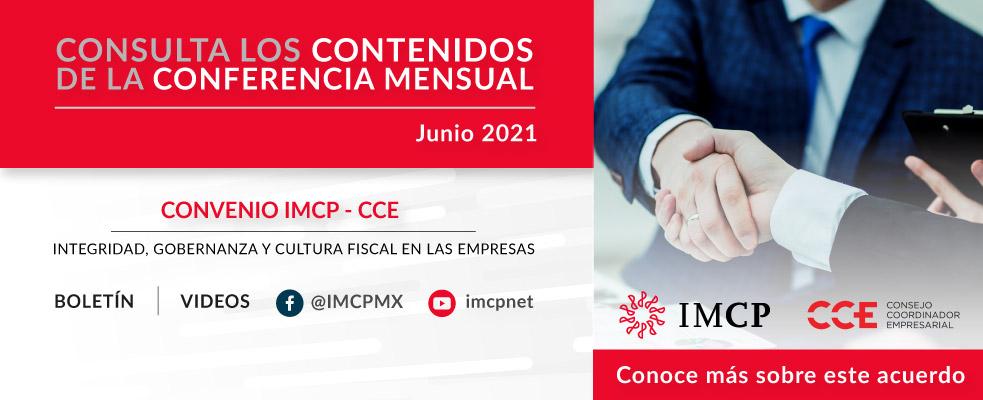 Conferencia de Prensa Junio 2021.