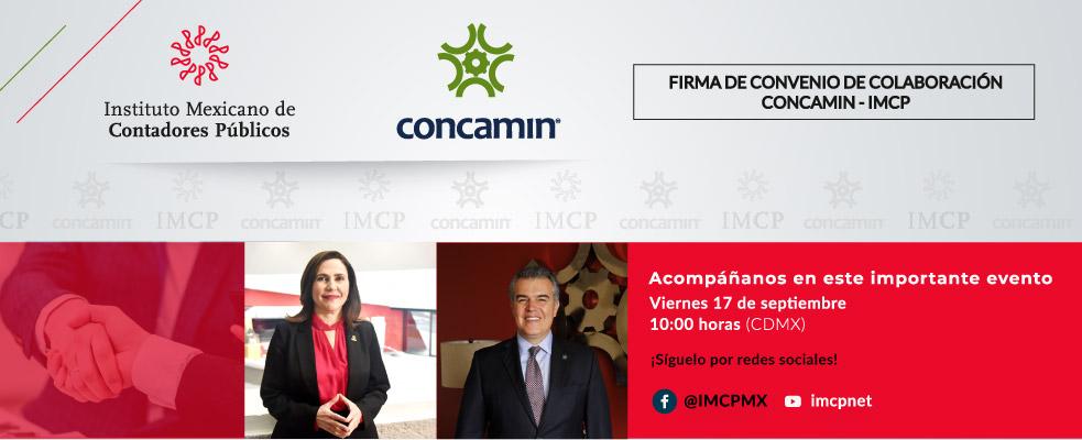 Convenio de Colaboración IMCP – CONCAMIN